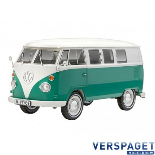 VW T1 Bus & Verf & lijm  & Penseeltje -67675