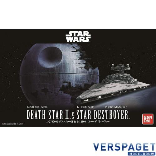 Star Wars Death Star II + Star Destroyer -01207