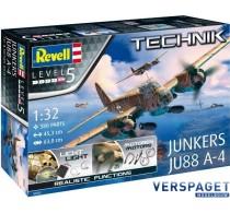 Junkers JU88 A-4 Technic 00452