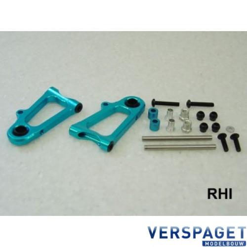 TT01/ TT01E Alluminium Onderdraagarmen Voorzijde Tamiya -800598
