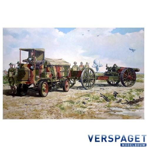 FWD Model B 3 ton & BL 8-inch howitzer Mk.VI -713