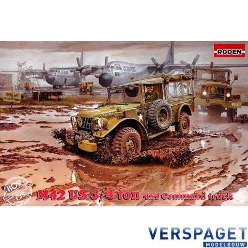 M42 US ¾ ton 4x4 Command truck Roden -809