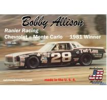 Bobby Allison's Chevrolet Monte Carlo 1981 Winner -BAMC1981R