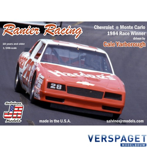 Ranier Racing Monte Carlo 1984 Winner -CYMC1984D