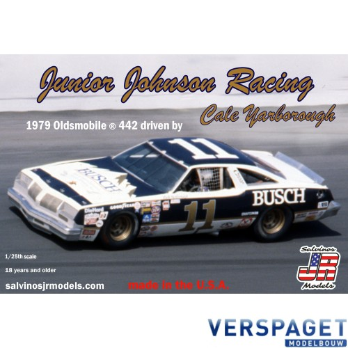 Junior Johnson Racing 1979 Oldsmobile 442 Driven By Cale Yarborough -JJ01979D