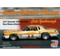 Junior Johnson Racing 1977 Chevrolet Monte Carlo driven by Cale Yarborough -JJMC1977NW