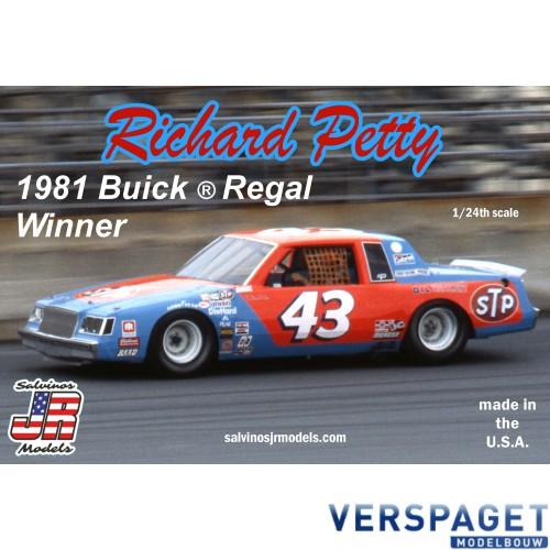 Richard Petty 1981 Winner Buick Regal -RPD1981D