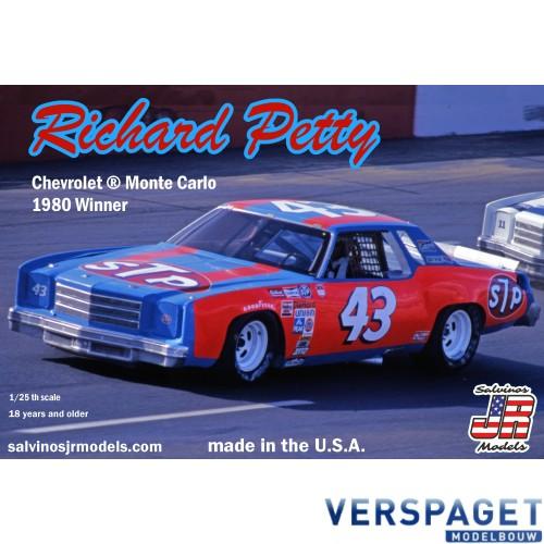 Richard Petty Chevrolet Monte Carlo 1980 Winner -RPMC1980N