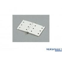 Nylon Scharnier & steel pin Extra Sterk / 10pcs -S100-091-8