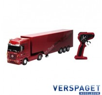 Mercedes-Benz Actros Heavy Truck Trailer 1:32 Rood  2.4 GHz -50080