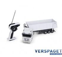 Mercedes-Benz Actros Kipwagen 1:32 Wit  2.4 GHz -50091