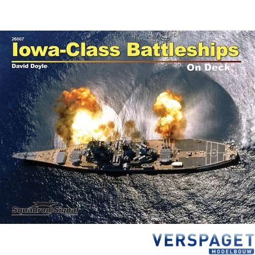 Iowa-Class Battleships on Deck -26007