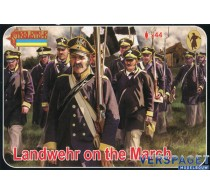 Landwehr on the March -168