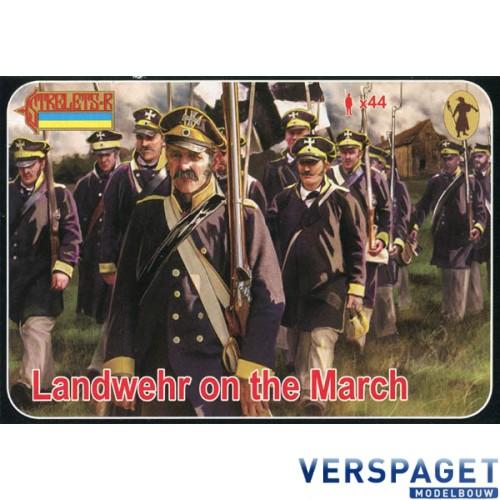 Landwehr on the March -168