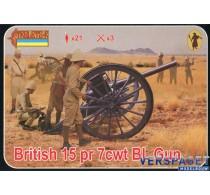 British 15 pr 7cwt BL Gun -177