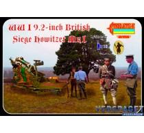WWI 9,2-Inch British Siege Howitzer M-I -A012