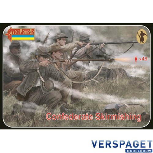 Confederate Skirmishing -158
