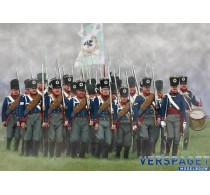 Prussian Infantry on the March -174
