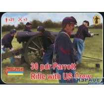 30pdr Parrott Rifle with US Crew -182