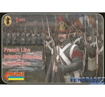 French Line Infantry Standing At Attention -184