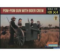 Pom-Pom Gun with Boer Crew -188