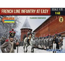 Napoleonic French Line Infantry at Ease in Winter Dress -225