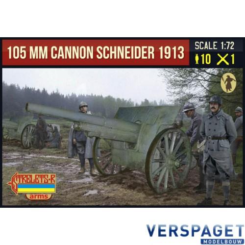 105 mm Cannon Schneider 1913 -A015