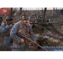 WWI Polish Infantry (Blue Army) -M130