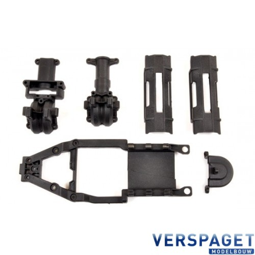 Chassis Support & Batterij Cover -T4933-02