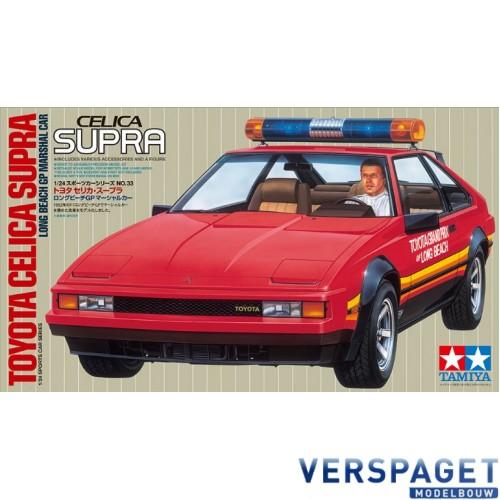 Toyota Celica Supra Long Beach GP Marshal Car -24033