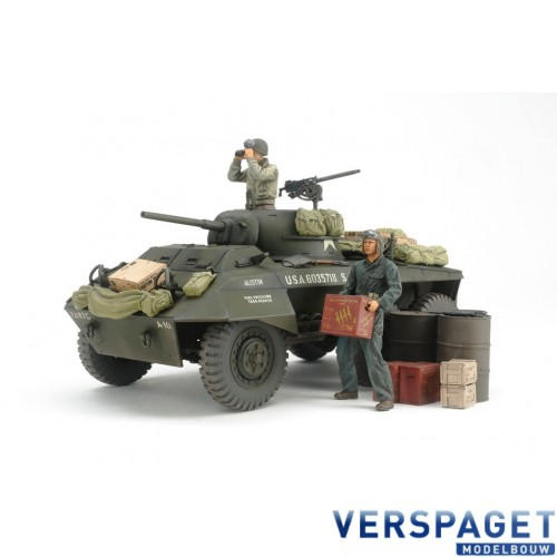 Us M8 Greyhound Combat Patrol Light Armored Car -25196
