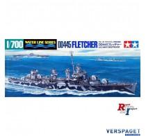 U.S. Navy Destroyer DD445 Flechter -31902