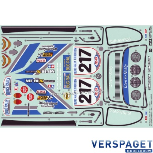Stikker Set VW Beetle Rally -319495918-000
