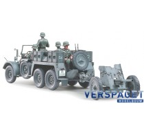Krupp Protze 1 ton (6x4) Kfz.69 Towing Truck with 3.7cm Pak -35259