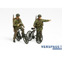 British Paratroopers Set - w/Bicycles -35333
