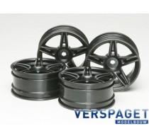 Ferrari FXX Wheels 4 Pcs. (26mm Width/Offset 4) TT-01 - 51263