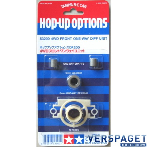 4WD Front One-Way Diff Unit -53200