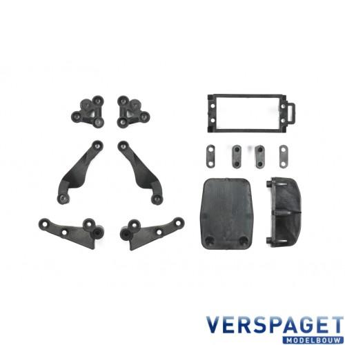TB 05 Carbon Reinforced K Parts Stiffeners -54320