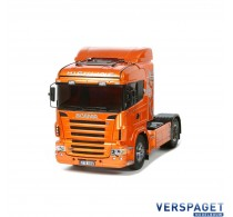 Scania R 470 Highline Orange Edition -56338 & Gratis Accu pack 7,2 volt 3000 Mah  twv 22,99