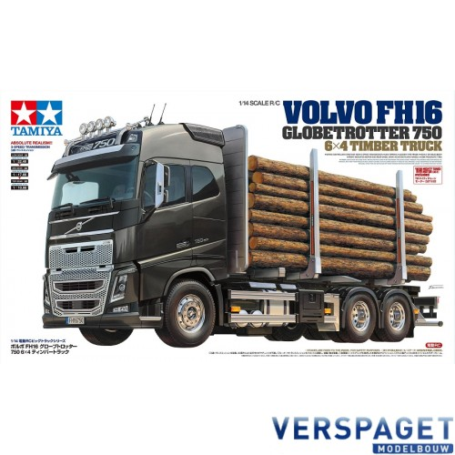 Volvo FH16 Globetrotter 750 6x4 Timber -56360