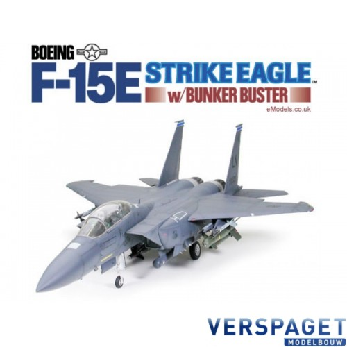 F-15E Strike Eagle with Bunker Buster -60312