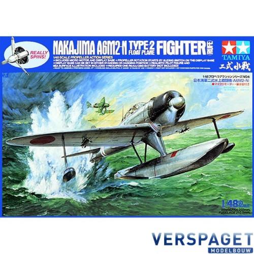 "Nakajima A6M2-N Type-2 Floatplane Fighter  ""Propeller Action"" -61506"