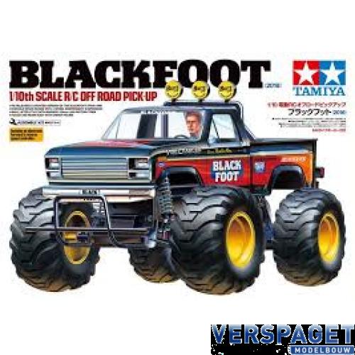 Tamiya Blackfoot 58633is Een Electro Aangedreven