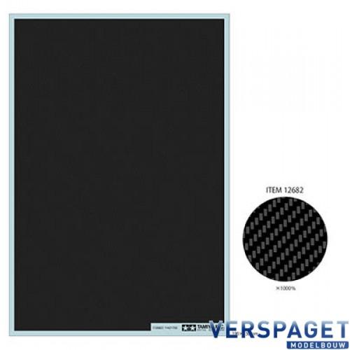 Carbon Pattern Decal Set - Plain Weave/Extra Fine -12680