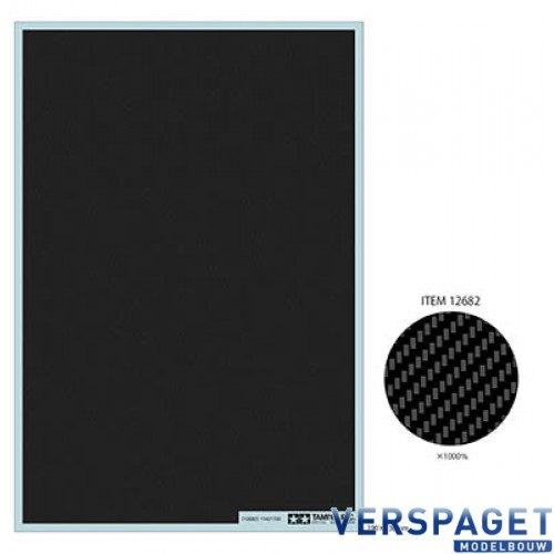 Carbon Pattern Decal Set - Twill Weave/Extra Fine -12682