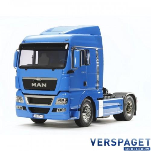 MAN TGX 18. 540 4x2 XLX French Blue -56350 & Gratis Accu pack 7,2 volt 3000 Mah  twv 22,99