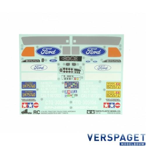 Stikker Set Ford Aeromax -309495289