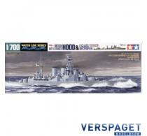 HMS Hood & E Class Destroyer-31806