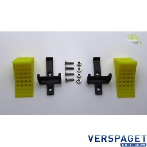 Wielblokken Geel -50087