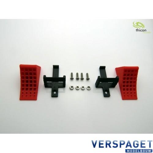 Wielblokken Rood -50088